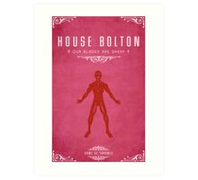 House Bolton Art Print