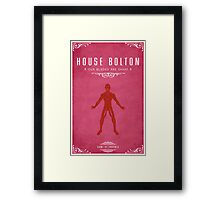 House Bolton Framed Print