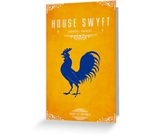 House Swyft Greeting Card