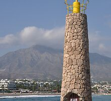 Puerto Banus lighthouse by luissantos84