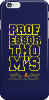 Professor Thoms iPhone Case-2 by SimpleSimonGD