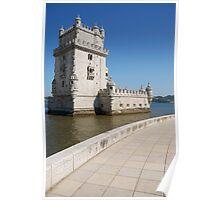 Belem Tower in Lisbon Poster