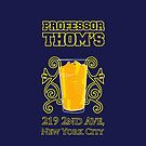 Professor Thoms iPhone Case-9 by SimpleSimonGD