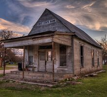 Old Turnersville Bank Building by Terence Russell