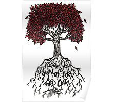 Follow You Down To The Red Oak Tree Poster