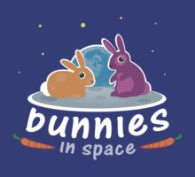 Bunnies in Space by I-E-K