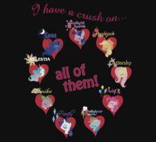 I have a crush on... all of them! - 1.1 by Stinkehund