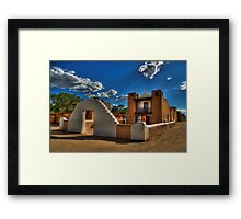 San Geronimo Church Taos Pueblo Framed Print