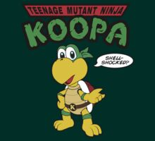 Teenage Mutant Ninja Koopa by worldcollider