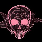 Skull Flower by Crazy8