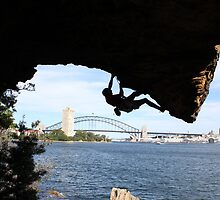 Climbing Sydney Harbour by Scott Rowling