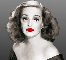 Bette Davis by Abella Joaquin
