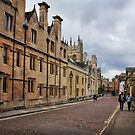 Merton College, Oxford by Irina Chuckowree