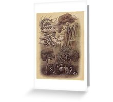 Journey to the West  Greeting Card