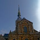Mont St Michel by tunna