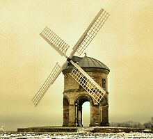 Snow Monster Protecting the Mill by yampy