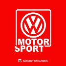 VW Motor Sport RED by axesent