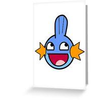 Mudkipz Greeting Card