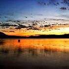 Sunset Lake by GIStudio
