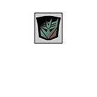 Transformers - Decepticon Rubsign iPhone Case (White) by deadbunneh _