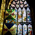 Stained Glass Window - St Giles Cathedral Edinburgh by AmandaJanePhoto