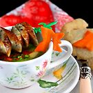 Sausage-Sticks With Vegetable And Semolina Soup by SmoothBreeze7