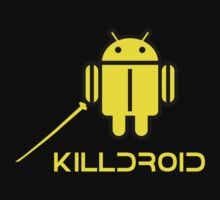 KILLDROID (Dark Background Version) by Yiannis  Telemachou
