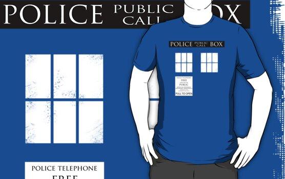 Police Public Call Box by lonelyrainbows