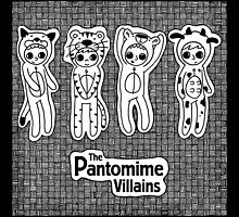 The Pantomime Villains EP Cover by Ben Cameron