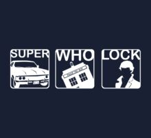 SuperWhoLock Horizontal Kids Clothes
