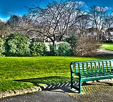 Park Bench by david261272