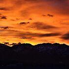 Wasatch Sunrise by J. D. Adsit