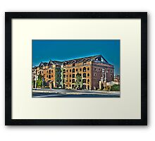 Offices Framed Print