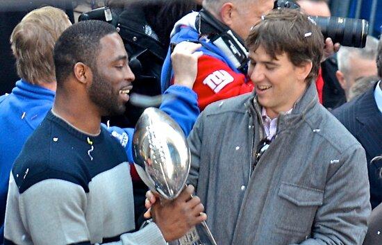 NY Giants Super Bowl Winners by Ellen Rosen Singer