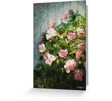 The Queen of The Peony Greeting Card