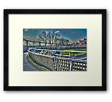 Bridge 2 Framed Print