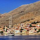 Halki from out on the bay by Tom Gomez