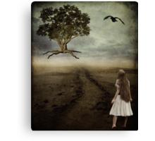 Letting Go... Canvas Print