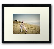 Live in the Sunshine, Swim in the Sea, Drink the Wild Air... Framed Print