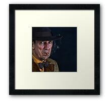 12. Emptiness  - The Saga of a Fatal Attraction Framed Print