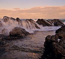 Wet Rocks, Burgess Beach by bazcelt