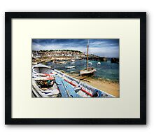 Mousehole Harbour Framed Print
