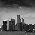 Chicago Skyline by Paul Barnett