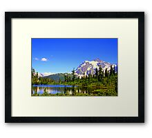"""""""Spring Time in the Cascades"""" Framed Print"""