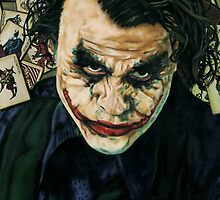 The Joker  by ascenciok