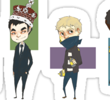 Sherlock Army Sticker