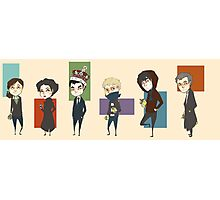 Sherlock Army Photographic Print