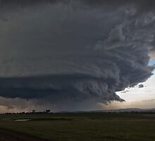 Gunnedah, Supercell thunderstorm by flipsterx