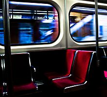Subway Ride by Eric W Dunthorne
