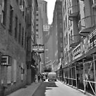 Downtown Alley by Joseph Pacelli